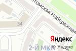 Схема проезда до компании Lack_Me в Кемерово