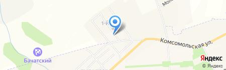 АВТОЭКСПРЕСС на карте Бачатского