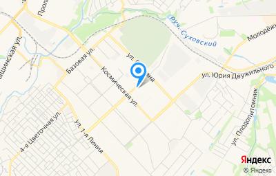 Местоположение на карте пункта техосмотра по адресу г Кемерово, ул Космическая, д 16А