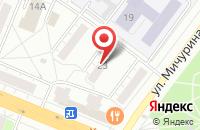 Схема проезда до компании Медицина и Просвещение в Кемерово