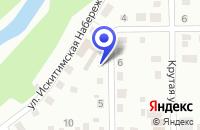 Схема проезда до компании МАГАЗИН МЕЧТА в Тисуле
