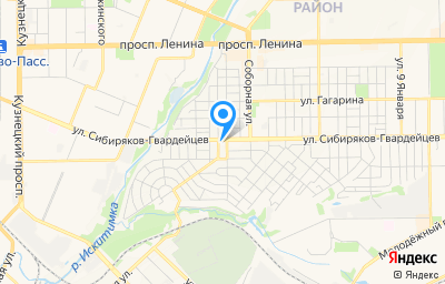Местоположение на карте пункта техосмотра по адресу г Кемерово, ул Сибиряков-Гвардейцев, д 111