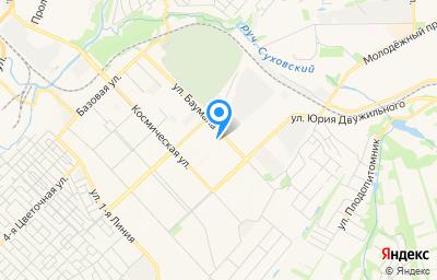 Местоположение на карте пункта техосмотра по адресу г Кемерово, ул Баумана, д 16А