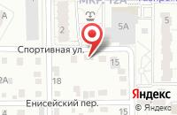 Схема проезда до компании Язь в Голиково