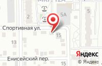 Схема проезда до компании Пятерочка в Новосемейкино