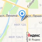А Проект на карте Кемерово