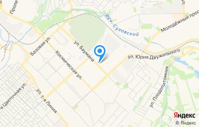 Местоположение на карте пункта техосмотра по адресу г Кемерово, туп 9-й Цветочный