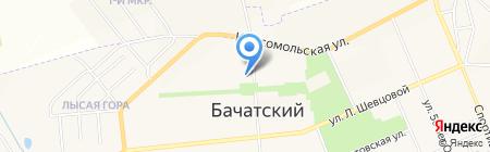 Солидарность на карте Бачатского