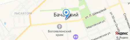 Банкомат Банк ВТБ 24 на карте Бачатского