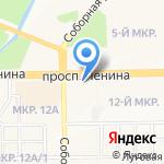МДМ банк на карте Кемерово