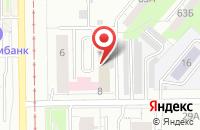 Схема проезда до компании Дио-Софт Вц в Кемерово