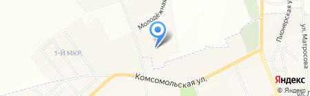 Промэкс на карте Бачатского