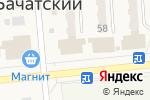 Схема проезда до компании Мария-Ра в Бачатском