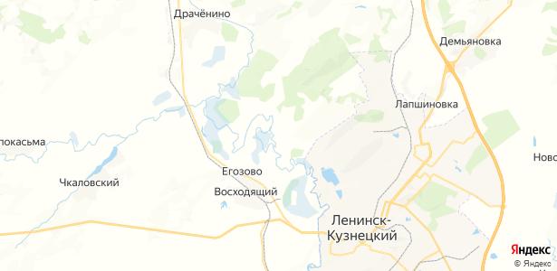 Егозово на карте