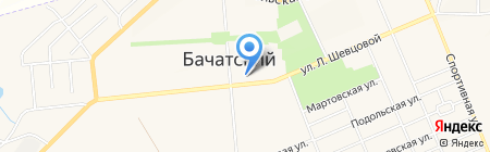 Финтерра на карте Бачатского