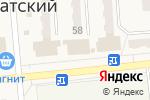 Схема проезда до компании Банкомат, Сбербанк, ПАО в Бачатском