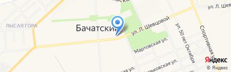 Лана на карте Бачатского