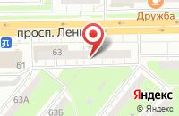 Схема проезда до компании Пивточка в Кемерово