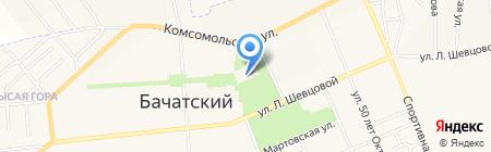 Банкомат Банк Кольцо Урала на карте Бачатского