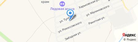 Алтай на карте Бачатского