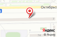 Схема проезда до компании Нико в Кемерово