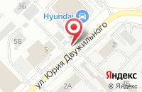 Схема проезда до компании ТехноНИКОЛЬ в Кемерово