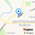 Kvart-hotel на карте Кемерово