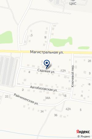 МОУ ОКУНЕВСКАЯ ШКОЛА на карте Кемерово