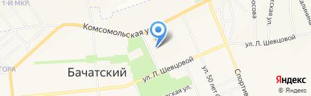 Сезон на карте Бачатского