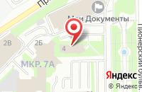 Схема проезда до компании АзияНафтаХим в Кемерово
