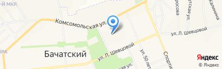 Сибирское здоровье на карте Бачатского