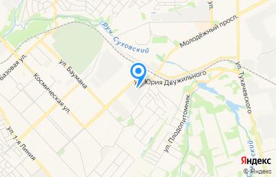 Местоположение на карте пункта техосмотра по адресу г Кемерово, ул Юрия Двужильного, д 4Б