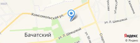 Старт на карте Бачатского