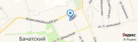 Мир Медицины на карте Бачатского
