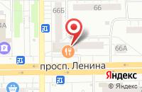 Схема проезда до компании Трансресурс+ в Кемерово
