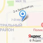 Кемеровский государственный медицинский университет на карте Кемерово
