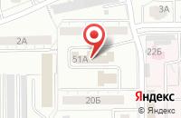Схема проезда до компании Техплаза в Кемерово