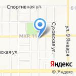 Алмаз на карте Кемерово