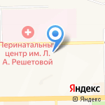 Центральное на карте Кемерово