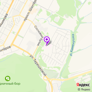 Кузбасский кардиологический центр на карте