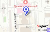 Схема проезда до компании Энергоремонтная компания в Кемерово