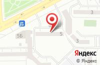 Схема проезда до компании Мир Офисной Мебели в Кемерово