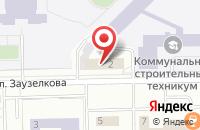 Схема проезда до компании Сенат в Кемерово