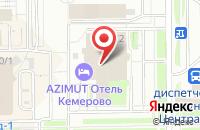 Схема проезда до компании Pro Mebel в Кемерово