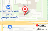 Схема проезда до компании GreenBet в Кемерово
