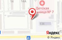 Схема проезда до компании Полиграфснабкомплект в Кемерово
