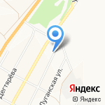 Турсервис на карте Кемерово
