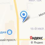 Эскулап на карте Кемерово