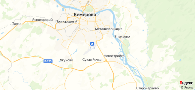 204 (летний) автобус в Кемерово