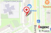 Схема проезда до компании Ольга в Береславке
